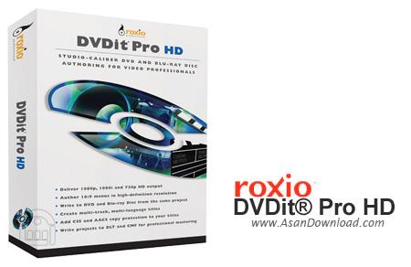 دانلود Roxio DVDit Pro HD v6.3 - نرم افزار ساخت دی وی دی فیلم های با کیفیت