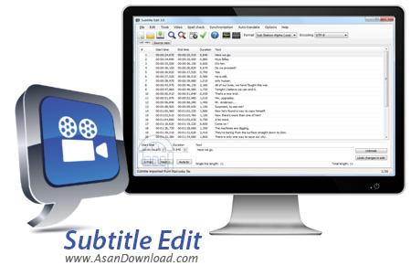 دانلود Subtitle Edit v3.5.5 - نرم افزار ساخت و ویرایش زیرنویس فیلم ها