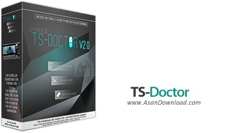 دانلود TS-Doctor v1.2.184 - نرم افزار ویرایش و تعمیر فایل های ضبط شده از گیرنده های تلویزیونی