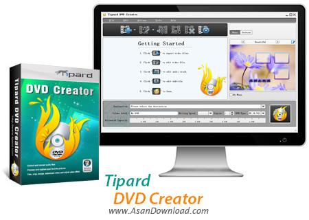 دانلود Tipard DVD Creator v5.2.10 - نرم افزار ساخت دی وی دی فیلم