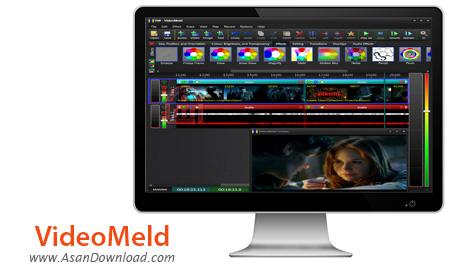 دانلود VideoMeld v1.23 - نرم افزار ویرایش فیلم و صوت