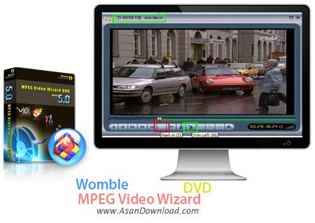 دانلود Womble MPEG Video Wizard DVD - نرم افزار ویرایش فیلم ها