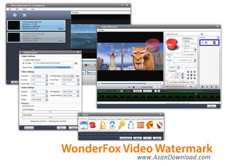 دانلود WonderFox Video Watermark v2.5 - نرم افزار قرار دادن آرم و لوگو روی فیلم ها