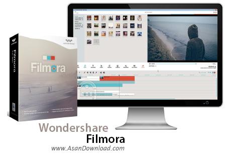 دانلود Wondershare Filmora v8.2.1.1 x64 - نرم افزار ویرایش فیلم ها