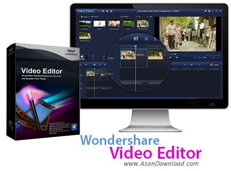 دانلود Wondershare Video Editor v4.7.1.0 - نرم افزار تدوین فیلم ها