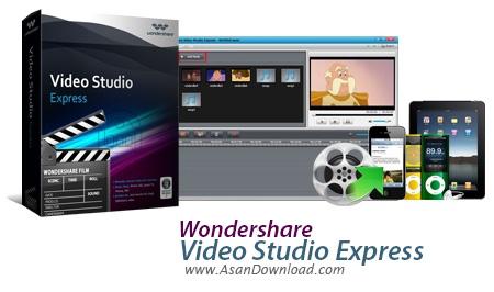 دانلود Wondershare Video Studio Express v1.2.0.4 - نرم افزار ساخت اسلایدشو و ویرایش فیلم ها