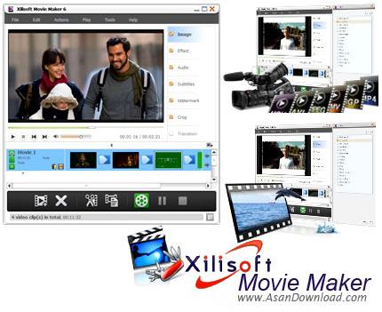 دانلود Xilisoft Movie Maker v6.6 - نرم افزار ویرایش ساده فیلم ها