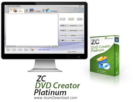 دانلود ZC DVD Creator Platinum v6.6.6 - نرم افزار ساخت و رایت دی وی دی فیلم