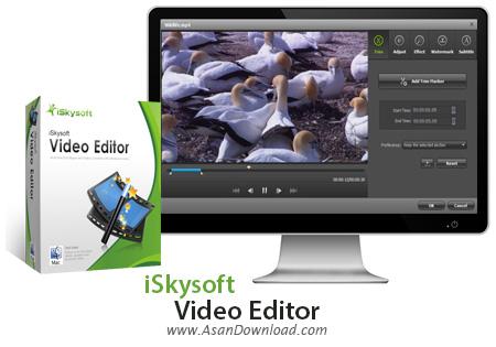 دانلود iSkysoft Video Editor v4.7.1.0 - نرم افزار ویرایش فیلم ها