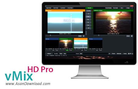 دانلود vMix 16.0.0.73 - میکس فیلم های ویدئویی HD و 4K