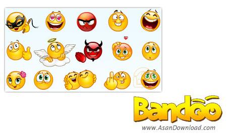 دانلود Bandoo v8.0 - نرم افزار ایجاد شکلک های جدید برای یاهو مسنجر