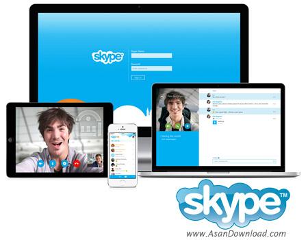 دانلود Skype v8.10.0.9 + v7.40.32.104 Business - نرم افزار اسکایپ، تماس صوتی و تصویری رایگان از طریق اینترنت