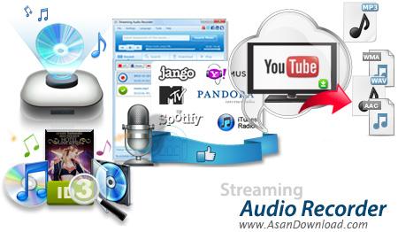 دانلود Apowersoft Streaming Audio Recorder v3.3.5 - نرم افزار ضبط و دانلود صدا و موسیقی های آنلاین