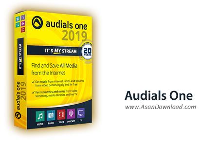 دانلود Audials One 2019 - نرم افزار جست وجو فایل های مالتی مدیا