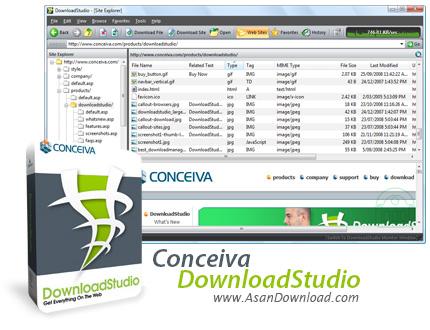دانلود Conceiva DownloadStudio v10.0.4.0 - نرم افزار مدیریت دانلود
