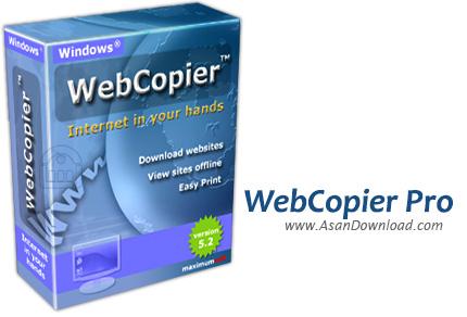 دانلود MaximumSoft WebCopier Pro v5.4 - دانلود کامل یک وب سایت