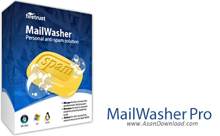 دانلود Firetrust MailWasher Pro v7.11.0 - نرم افزار پاکسازی و جلوگیری از ورود ایمیل های اسپم به سیستم