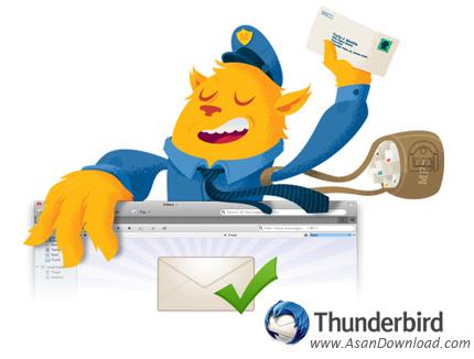 دانلود Mozilla Thunderbird v68.1.2 - نرم افزار مدیریت ارسال و دریافت ایمیل