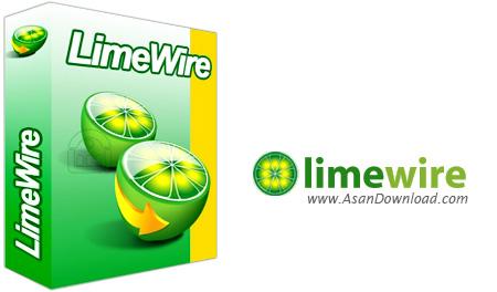دانلود LimeWire Pro v5.4.8.1 - نرم افزار اشتراک گذاری فایل ها