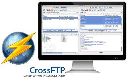 دانلود CrossFTP Enterprise v1.98.9 - نرم افزار آپلود برروی FTP