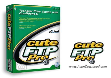 دانلود CuteFTP Pro v9.0.5.0007 - ارتباط با سرورهای اف تی پی