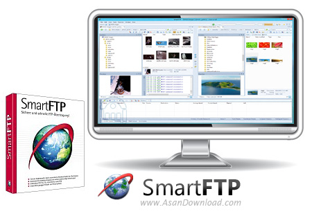 دانلود SmartFTP Client Enterprise v9.0.2610.0 + v4.0.1233 - نرم افزار ارتباط با اف تی پی
