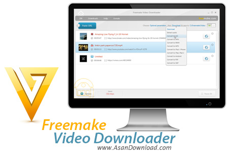 دانلود Freemake Video Downloader v3.7.0.13 - نرم افزار دانلود ویدئوهای آنلاین