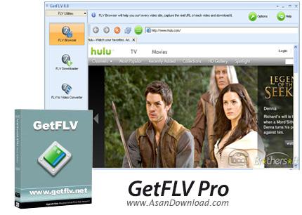 دانلود GetFLV Pro v9.7.6.9 - نرم افزار ذخیره سازی و نمایش فایل ها FLV