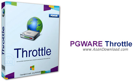 دانلود PGWARE Throttle v7.5.6.2013 - نرم افزار افزایش و بهینه سازی سرعت اینترنت