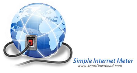 دانلود Simple Internet Meter v2.3.0 - نرم افزار نمایش دقیق پهنای باند