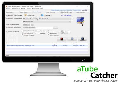 دانلود aTube Catcher v3.8.9432 - نرم افزار دانلود ویدئوهای آنلاین