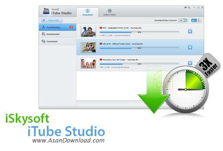 دانلود iSkysoft iTube Studio v4.3.3.0 - نرم افزار دانلود ویدئوهای آنلاین