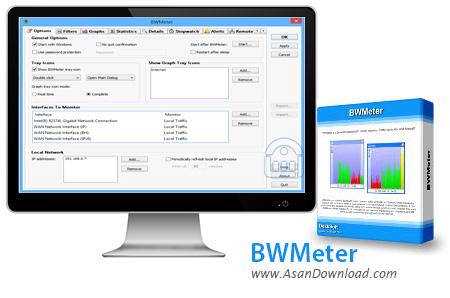 دانلود BWMeter v7.7.2 - نرم افزار محاسبه ترافیک مصرفی