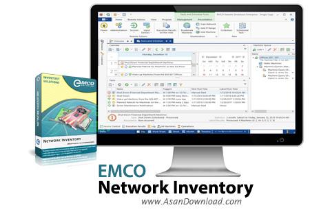 دانلود EMCO Network Inventory Enterprise v5.8.18.9921 - نرم افزار مدیریت شبکه