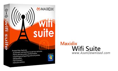 دانلود Maxidix WiFi Suite v15.9.2 Build 890 - نرم افزار مدیریت شبکه بی سیم