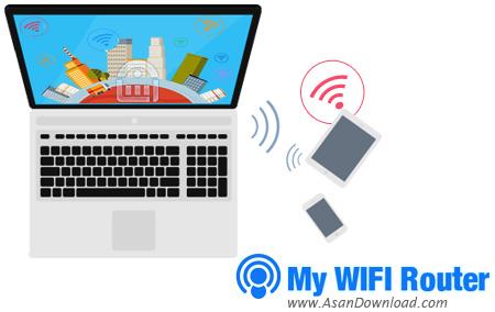 دانلود My WIFI Router v3.0.64 - نرم افزار ساخت شبکه وایرلس و اشتراک اینترنت