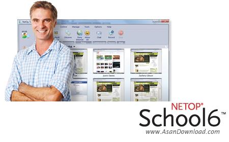 دانلود NetOp School v6.0.2008295 - نرم افزار مدیریت کلاس های درس