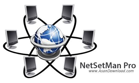 دانلود NetSetMan Pro v3.7.3 - نرم افزار مدیریت حرفه ای شبکه
