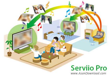 دانلود Serviio Pro v1.5 - نرم افزار مدیا سرور
