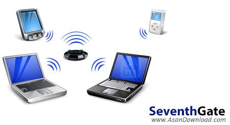 دانلود SeventhGate v0.3.4422.778 Beta - نرم افزار مدیریت به اشتراک گذاری WiFi ویندوز 7