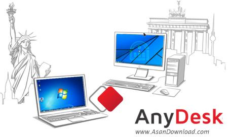 دانلود AnyDesk Free v3.6.3 - نرم افزار کنترل سیستم از راه دور