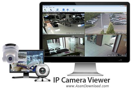 دانلود IP Camera Viewer v2.1 - نرم افزار نظارت بردوربین های IP