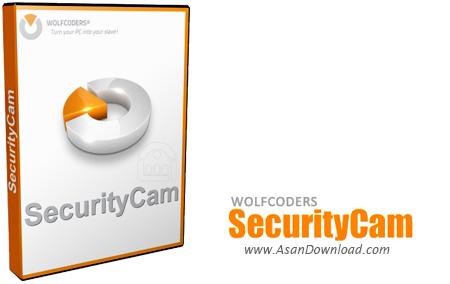 دانلود WOLFCODERS SecurityCam v1.4.0.7 - نرم افزار تبدیل وب کم به دوربین حفاظتی