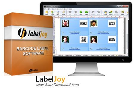 دانلود LabelJoy v5.3.0 - نرم افزار ساخت انواع بارکد
