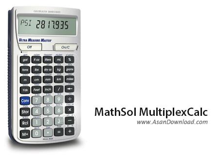 دانلود MathSol MultiplexCalc v5.4.8 - ماشین حساب مهندسی