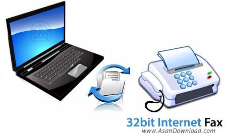 دانلود 32bit Internet Fax v11.02.24 - نرم افزار دریافت و ارسال فکس