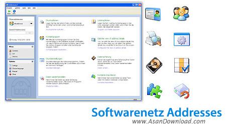 دانلود Softwarenetz Addresses2 v2.15 - نرم افزار مديريت آدرس ها و اطلاعات دوستان