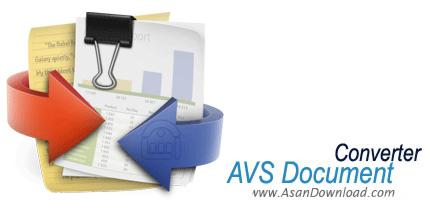 دانلود AVS Document Converter v4.1.1.258 - نرم افزار مبدل فرمت فایل های متنی
