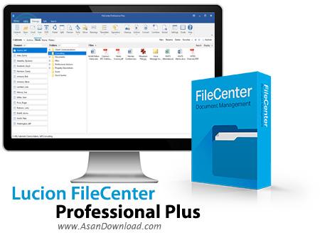 دانلود Lucion FileCenter v10.2.0.34 - نرم افزار مدیریت اسناد اداری