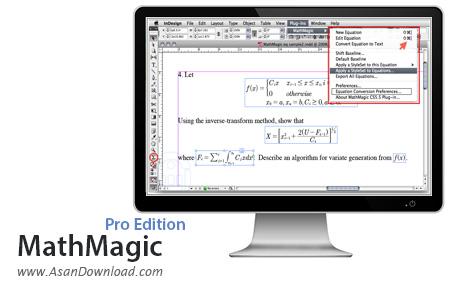 دانلود MathMagic Pro Edition v7.5.6.82 - نرم افزار ایجاد فرمول های ریاضی